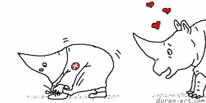 Смешные комиксы от Duran (39 фото)