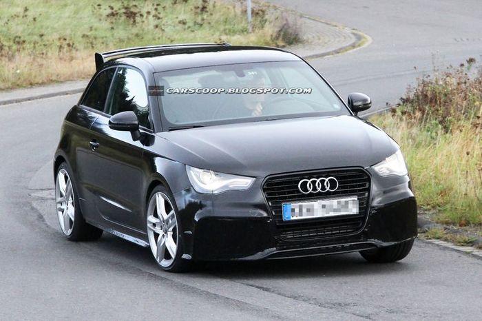 Шпионы засняли самый мощный Audi A1 — RS1 (14 фото)