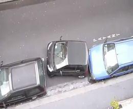 Суровая парковка на Smart