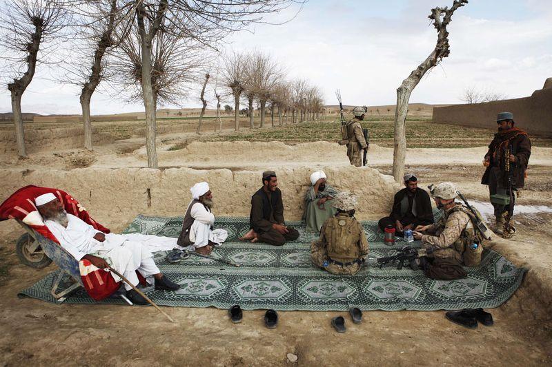 1935 Дневник фотографа Финбарра ОРайли: война в Афганистане