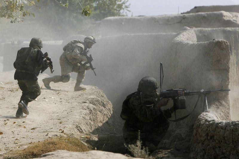 2154 Дневник фотографа Финбарра ОРайли: война в Афганистане