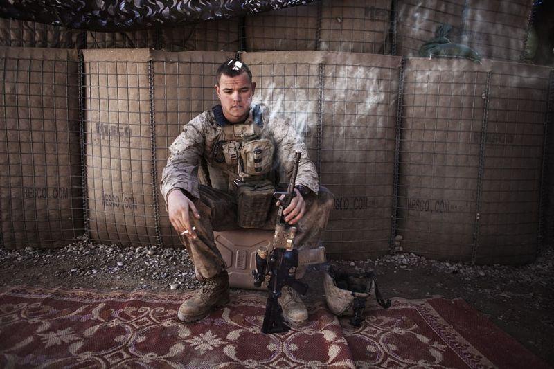 2155 Дневник фотографа Финбарра ОРайли: война в Афганистане