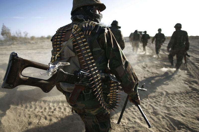 3022 Дневник фотографа Финбарра ОРайли: война в Афганистане
