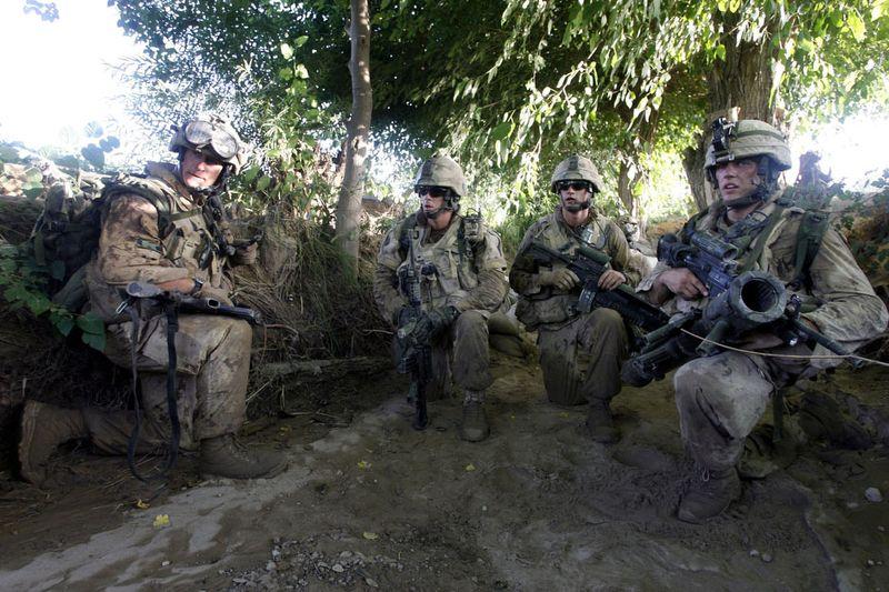 660 Дневник фотографа Финбарра ОРайли: война в Афганистане