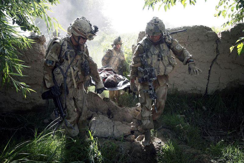 758 Дневник фотографа Финбарра ОРайли: война в Афганистане