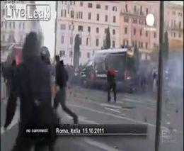 Протест в Риме