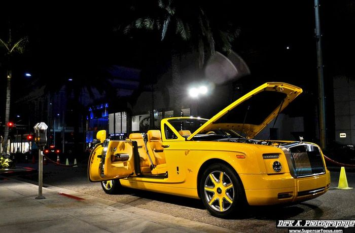 Rolls-Royce Phantom Drophead Bijan Edition (11 фото)