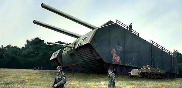 Невероятные военные разработки нацистской Германии ... (14 фото)