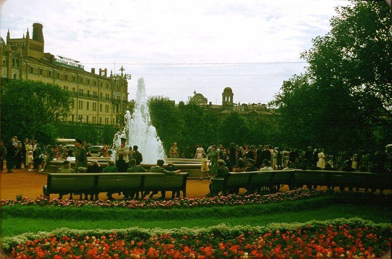 1237 Москва 1956 в фотографиях Жака Дюпакье