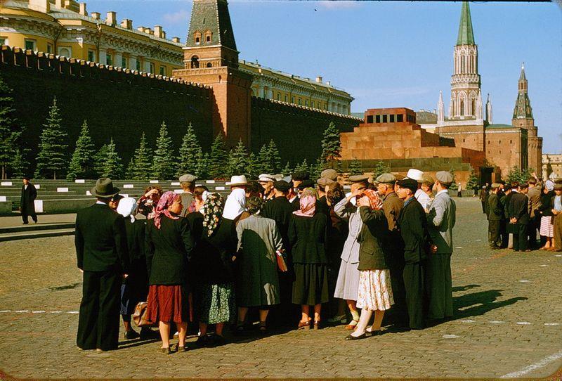 2230 Москва 1956 в фотографиях Жака Дюпакье
