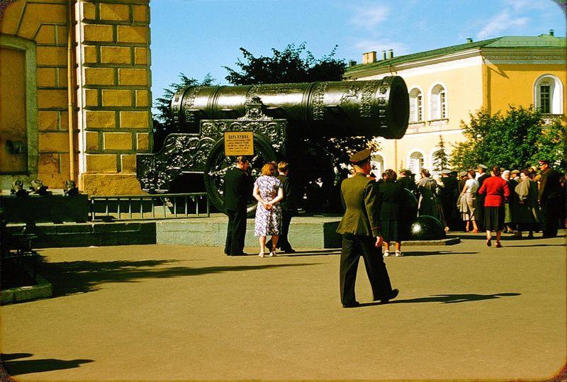 2328 Москва 1956 в фотографиях Жака Дюпакье