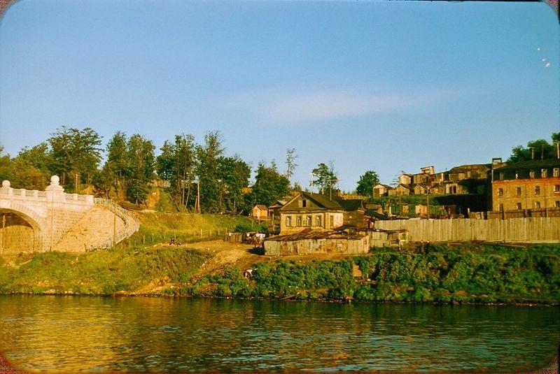 2624 Москва 1956 в фотографиях Жака Дюпакье