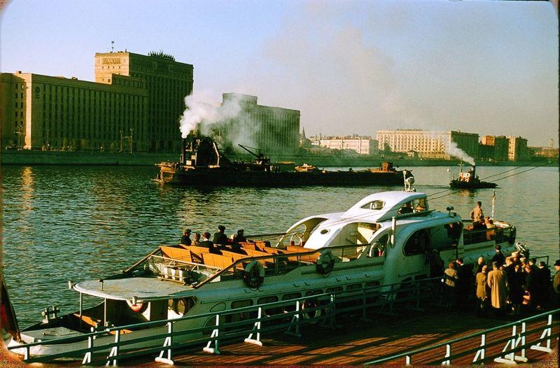 2822 Москва 1956 в фотографиях Жака Дюпакье