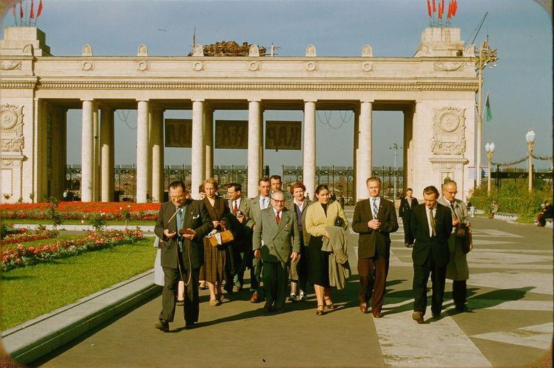 2922 Москва 1956 в фотографиях Жака Дюпакье
