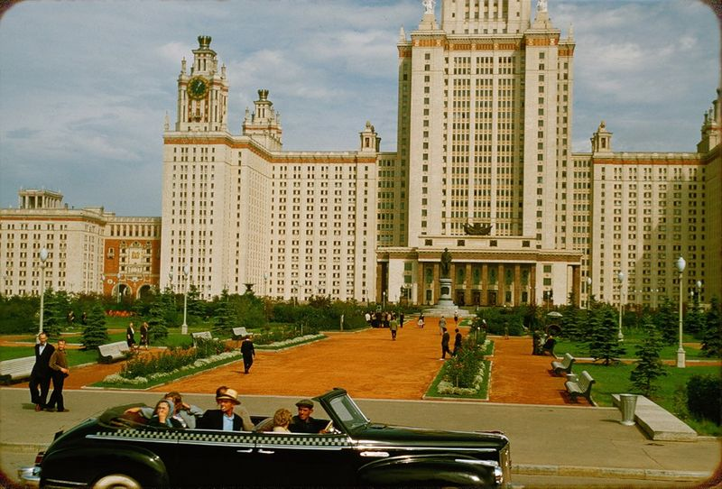 3127 Москва 1956 в фотографиях Жака Дюпакье