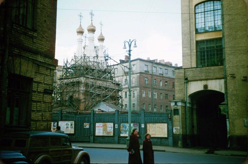 3517 Москва 1956 в фотографиях Жака Дюпакье