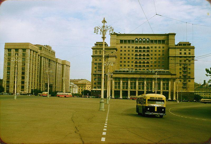 558 Москва 1956 в фотографиях Жака Дюпакье