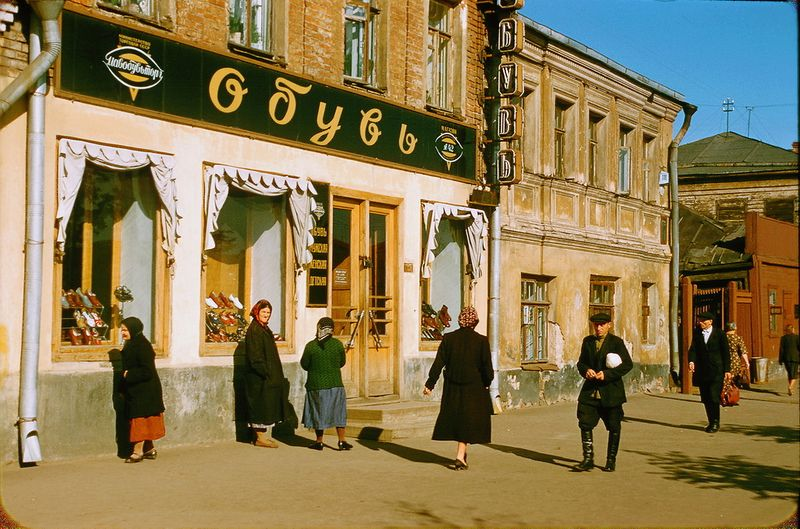 940 Москва 1956 в фотографиях Жака Дюпакье