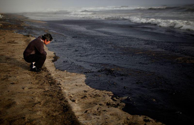 s n02 12051582 Разлив нефти у берегов Новой Зеландии