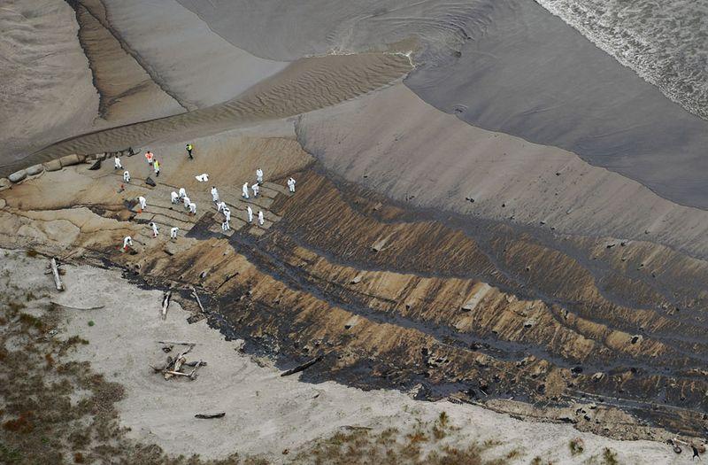 s n10 29092320 Разлив нефти у берегов Новой Зеландии