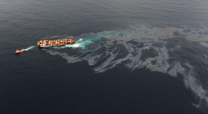 s n11 29092323 Разлив нефти у берегов Новой Зеландии