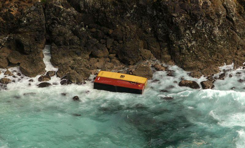 s n14 01201563 Разлив нефти у берегов Новой Зеландии