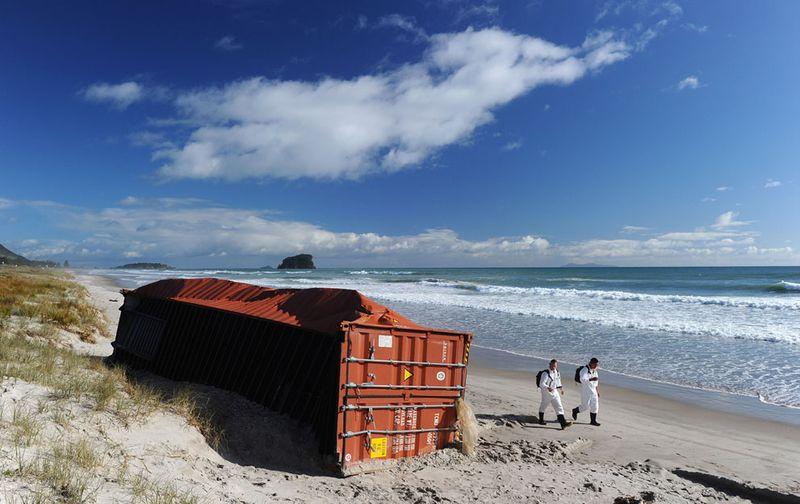 s n25 29181239 Разлив нефти у берегов Новой Зеландии