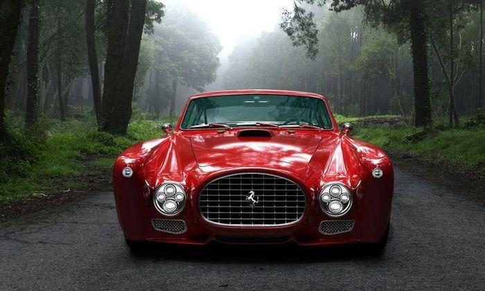 Потрясающий Ferrari 340 Competizione от  GWA Auto Design&Tuning (10 фото)