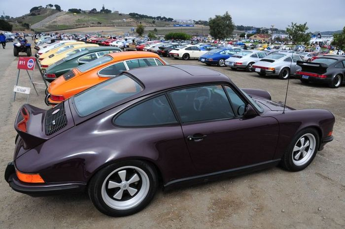 Фотоотчет с Porsche Rennsport Reunion 4 (91 фото)
