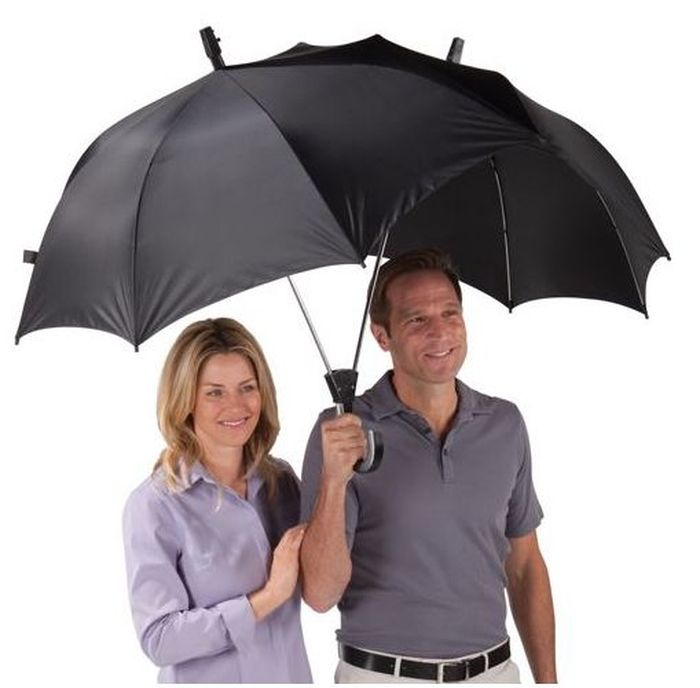 Необычные и забавные зонты (24 фото)