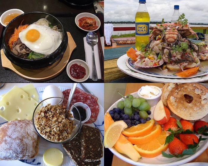 Топ 50 лучших завтраков мира (50 фото)