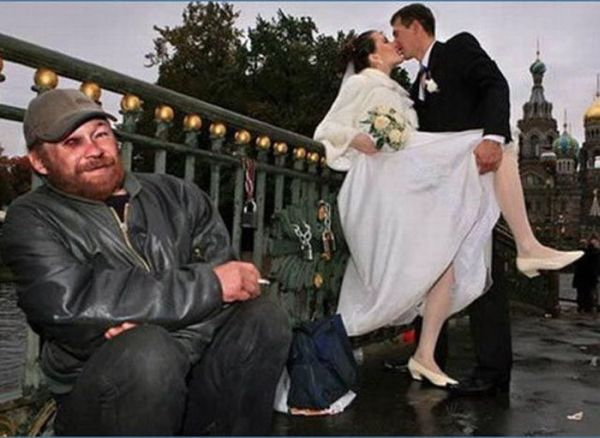 Забавные свадебные фотографии (56 фото)