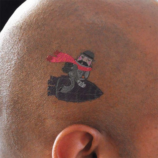 Временные татуировки от дизайнеров (22 фото)