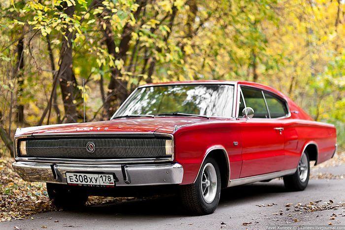 Фотосессия Dodge Charger 1967 (73 фото)