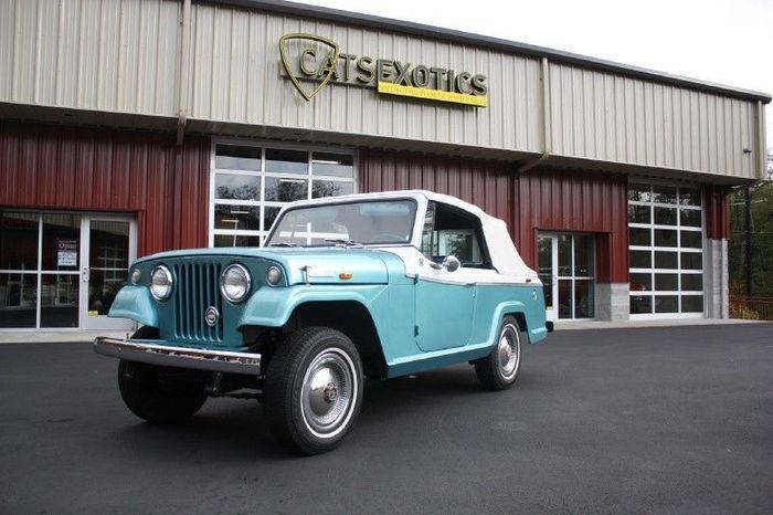 На аукцион выставлен Jeep Jeepster Commando Convertible (53 фото)