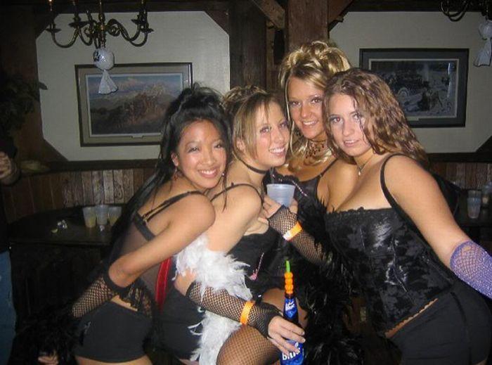 Вечеринка русских девушек ничем
