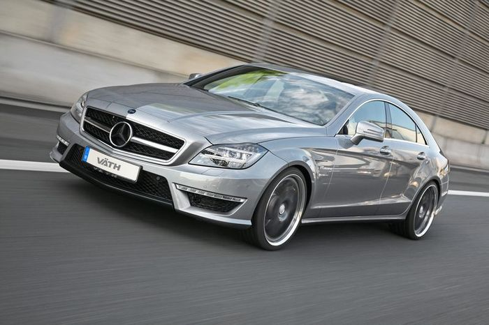 Mercedes-Benz CLS63 AMG подвергся тюнингу в ателье VATH (8 фото)