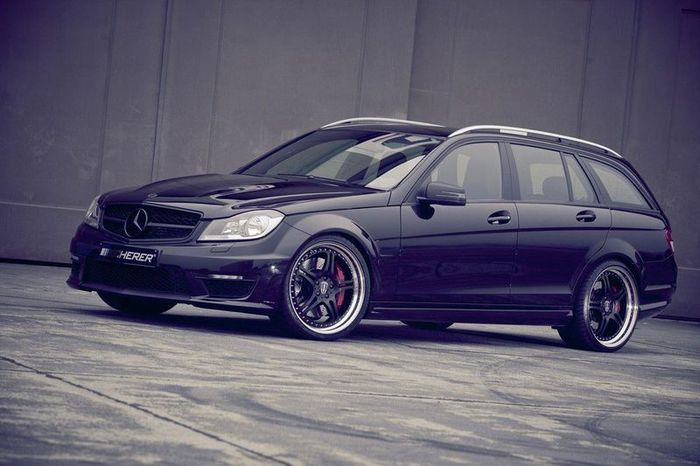 Mercedes C63 AMG T Supersport от ателье Kicherer (7 фото)