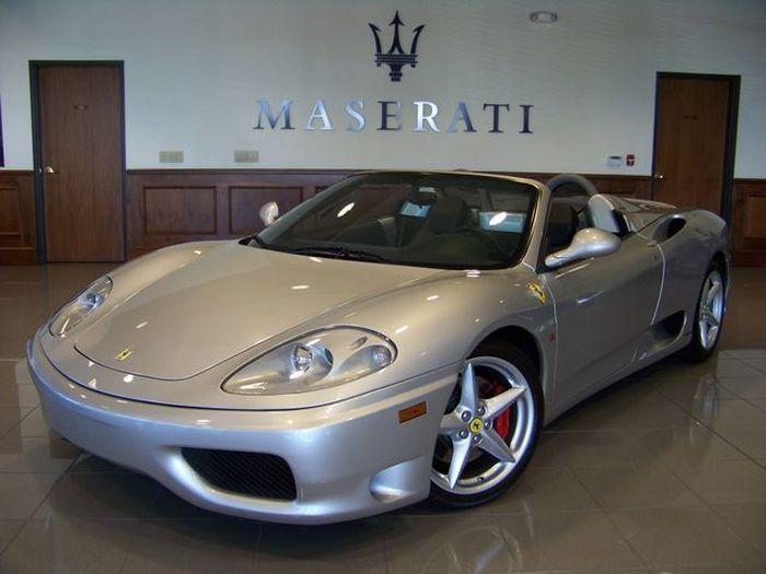 Бывшая Ferrari 360 Spider Арни продается за 92000$ (26 фото)