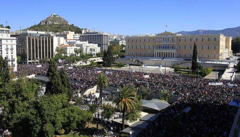 greece riots 101911 02 Беспорядки в Греции: второй день демонстраций