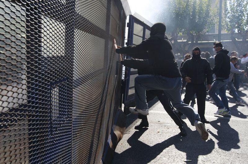 greece riots 101911 06 Беспорядки в Греции: второй день демонстраций