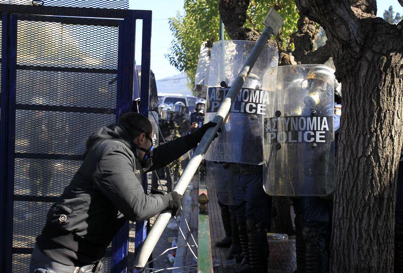 greece riots 101911 09 Беспорядки в Греции: второй день демонстраций