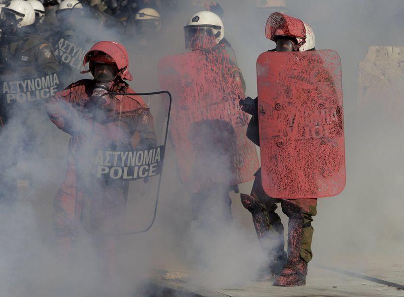 greece riots 101911 14 Беспорядки в Греции: второй день демонстраций