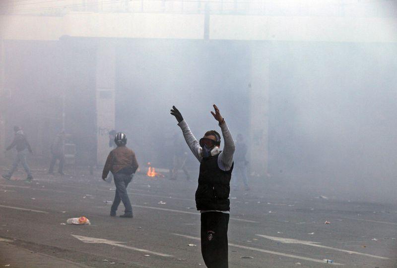 greece riots 101911 15 Беспорядки в Греции: второй день демонстраций