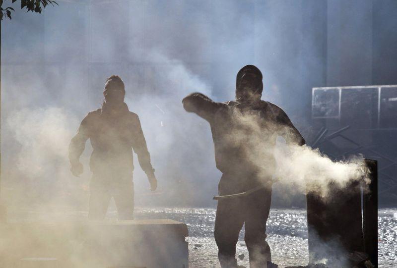 greece riots 101911 16 Беспорядки в Греции: второй день демонстраций