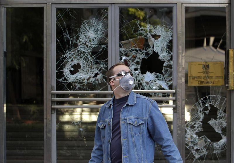 greece riots 101911 22 Беспорядки в Греции: второй день демонстраций