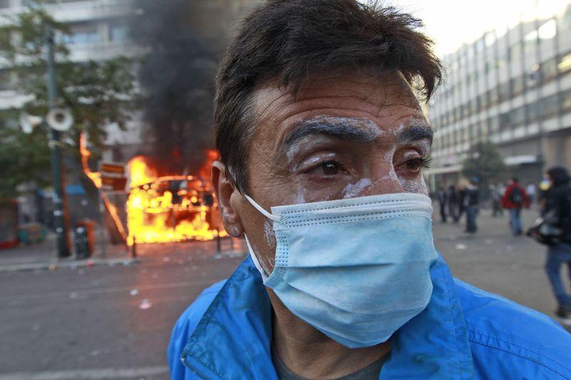 greece riots 101911 29 Беспорядки в Греции: второй день демонстраций