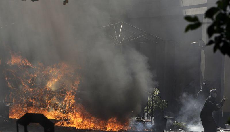 greece riots 101911 31 Беспорядки в Греции: второй день демонстраций