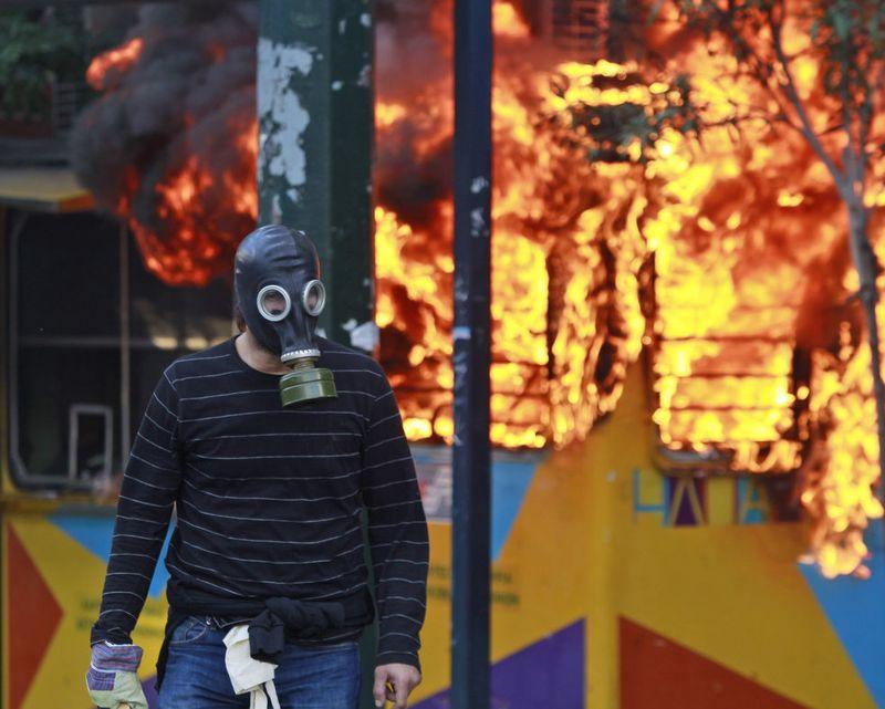greece riots 101911 32 Беспорядки в Греции: второй день демонстраций