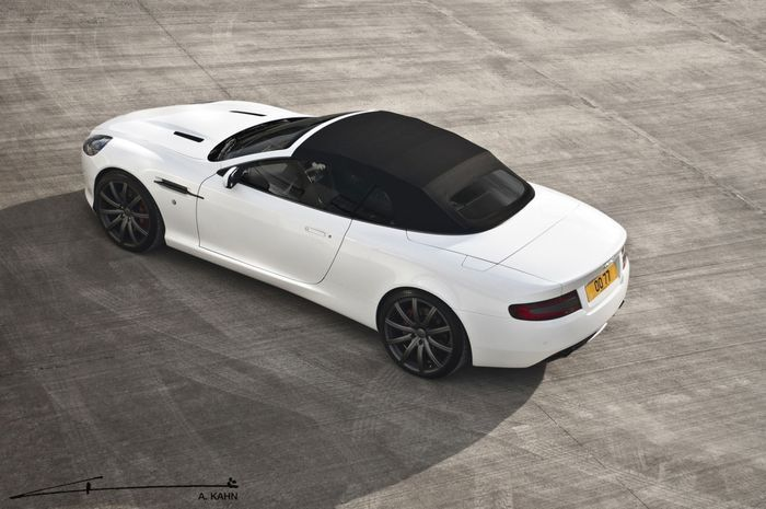 Aston Martin DB9 Volante от ателье Project Kahn (5 фото)